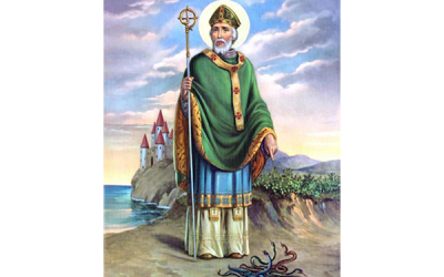 """From \""""The Breastplate of St. Patrick\"""""""